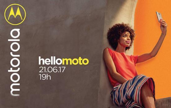 Moto巴西发布会海报